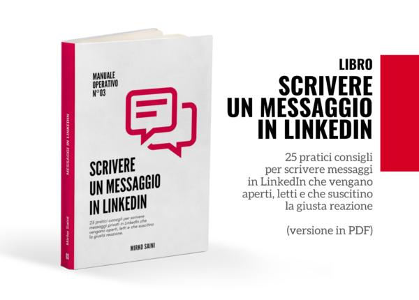 Scrivere un messaggio in Linkedin - il libro
