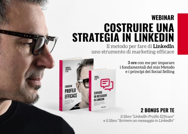 Costruire una strtategia in LinkedIn - webinar
